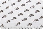 Robert Kaufman Cuddle - Elephants Snow