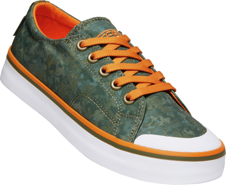 CRUZ LACE C-DARK OLIVE/RUSSET ORANGE