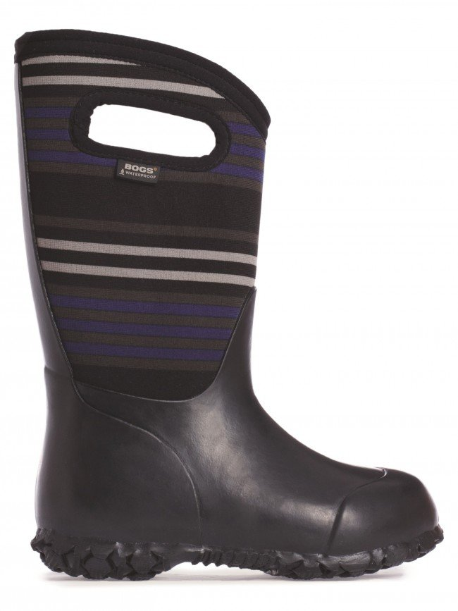 Bogs Kids Durham Stripes Boot