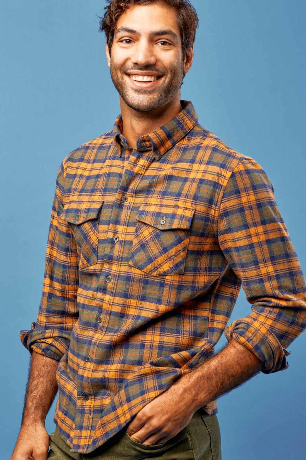 Men's Bridger Flannel Button Down