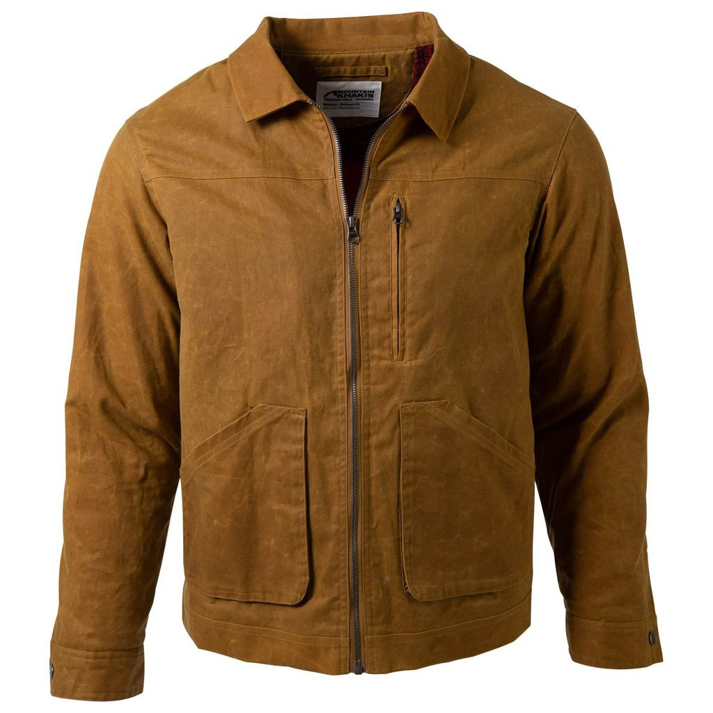 Mountain khaki Mens Buckrail Jacket
