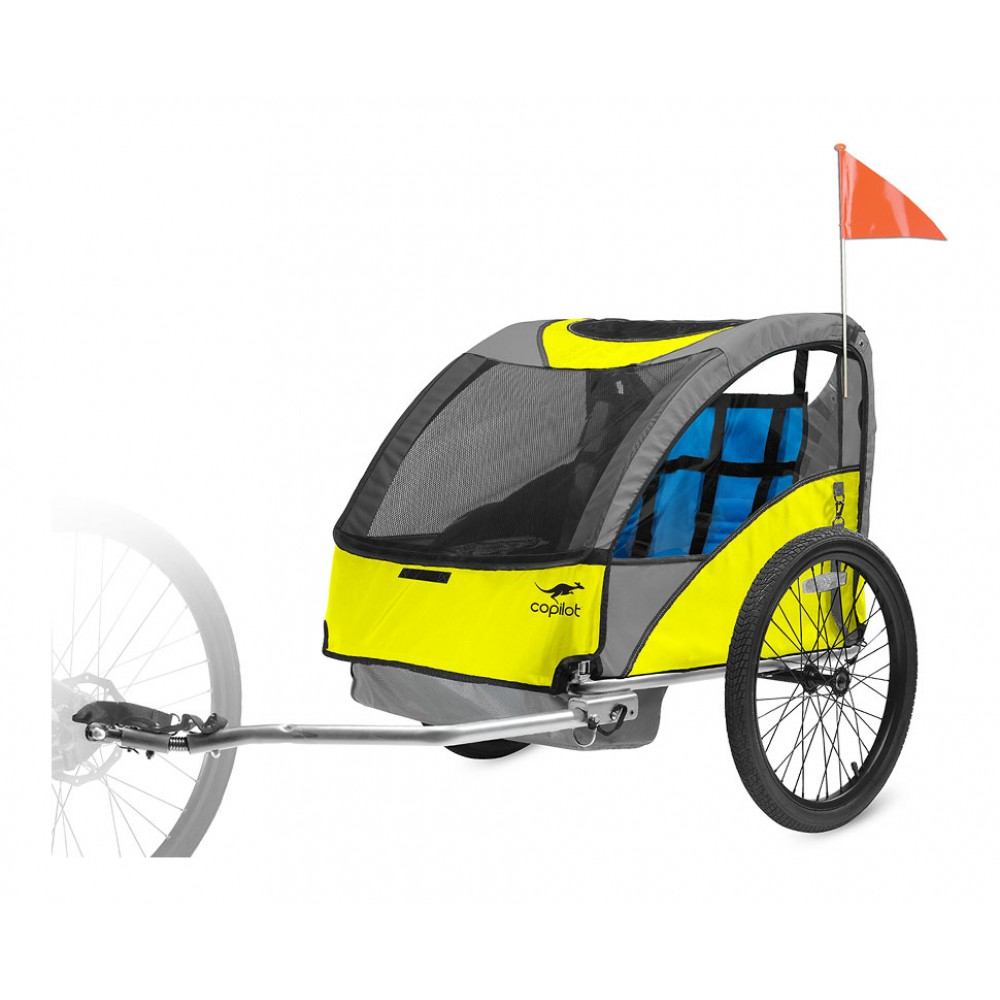 Copilot Model A bike trailer