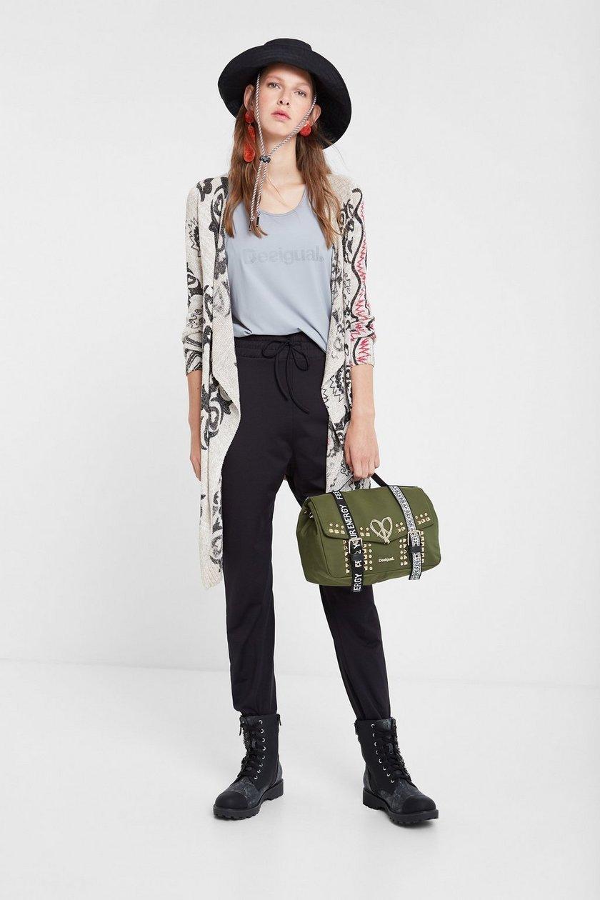 Desigual Women's Boho Knit Jacket