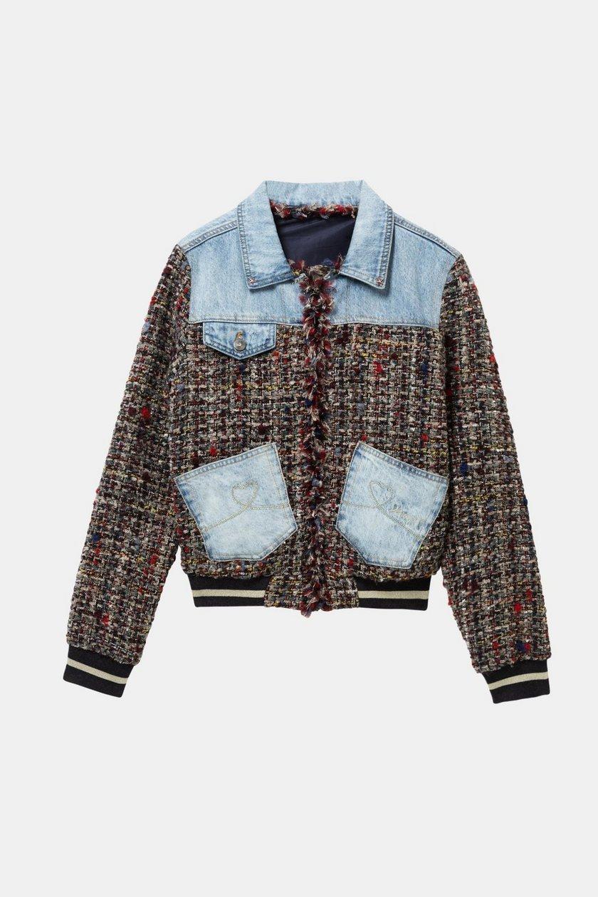 Desigual Women's Varsity Jean Jacket