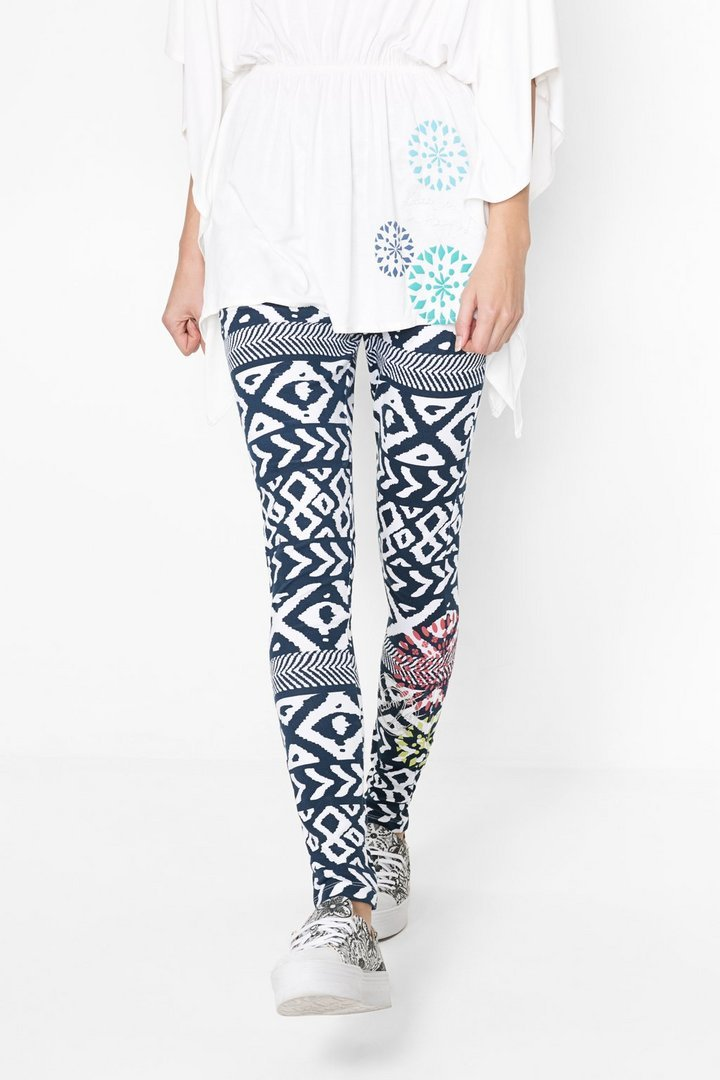 on sale where can i buy beauty Desigual Womesn Leggings Atypical Tribal - 8434101447051