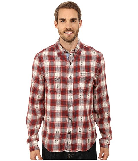 Ecoths Mens Kolten Long Sleeved Shirt