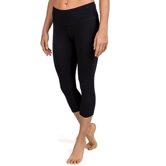 Free Fly Womens Bamboo Cropped Tight