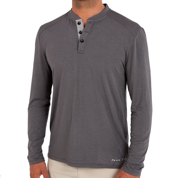 Free Fly Men's Bamboo Henley
