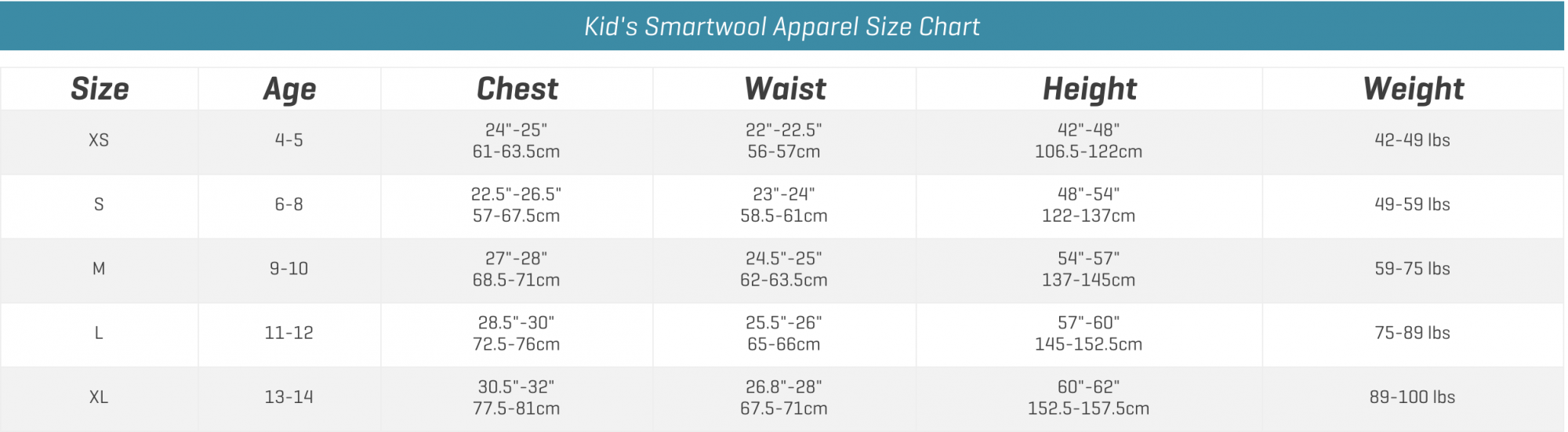 Smartwool Kid Apparel