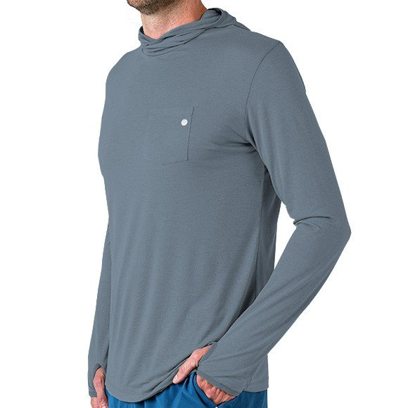 Free Fly Mens Bamboo Lightweight Hoody