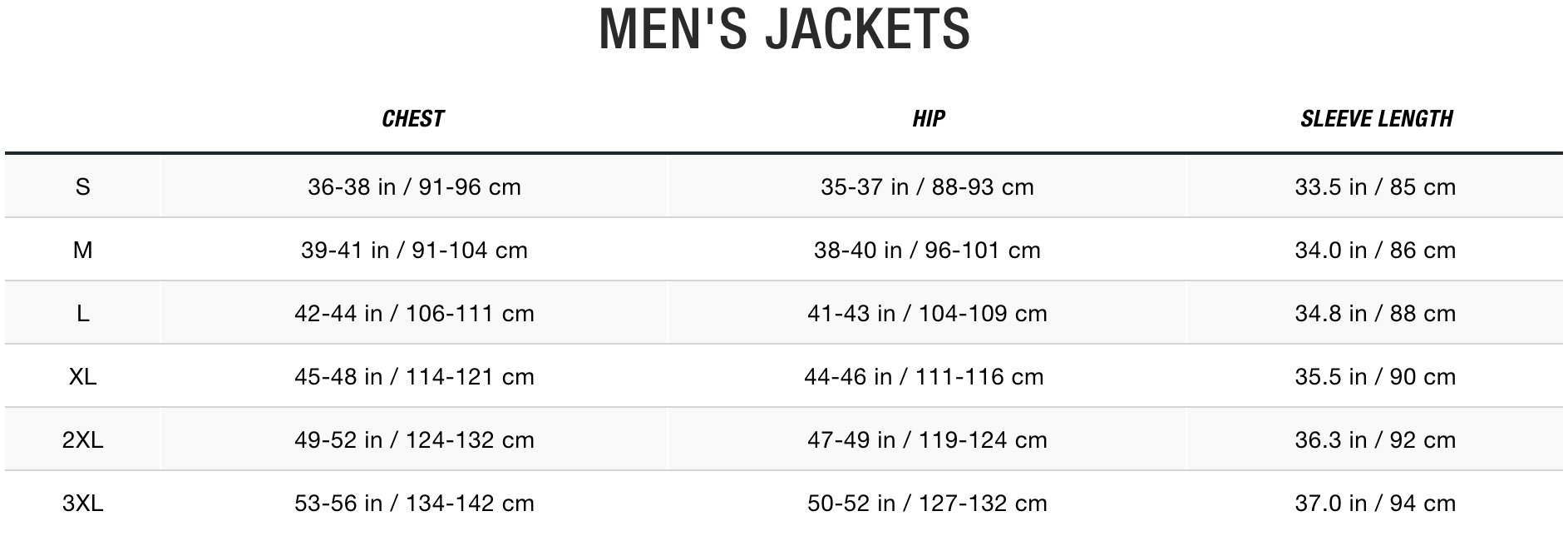 TNF Men Jackets