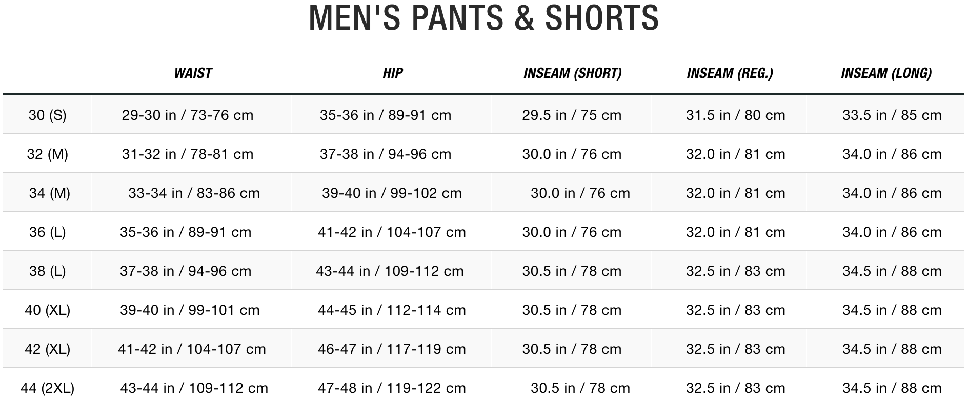 TNF Men Pants & Shorts