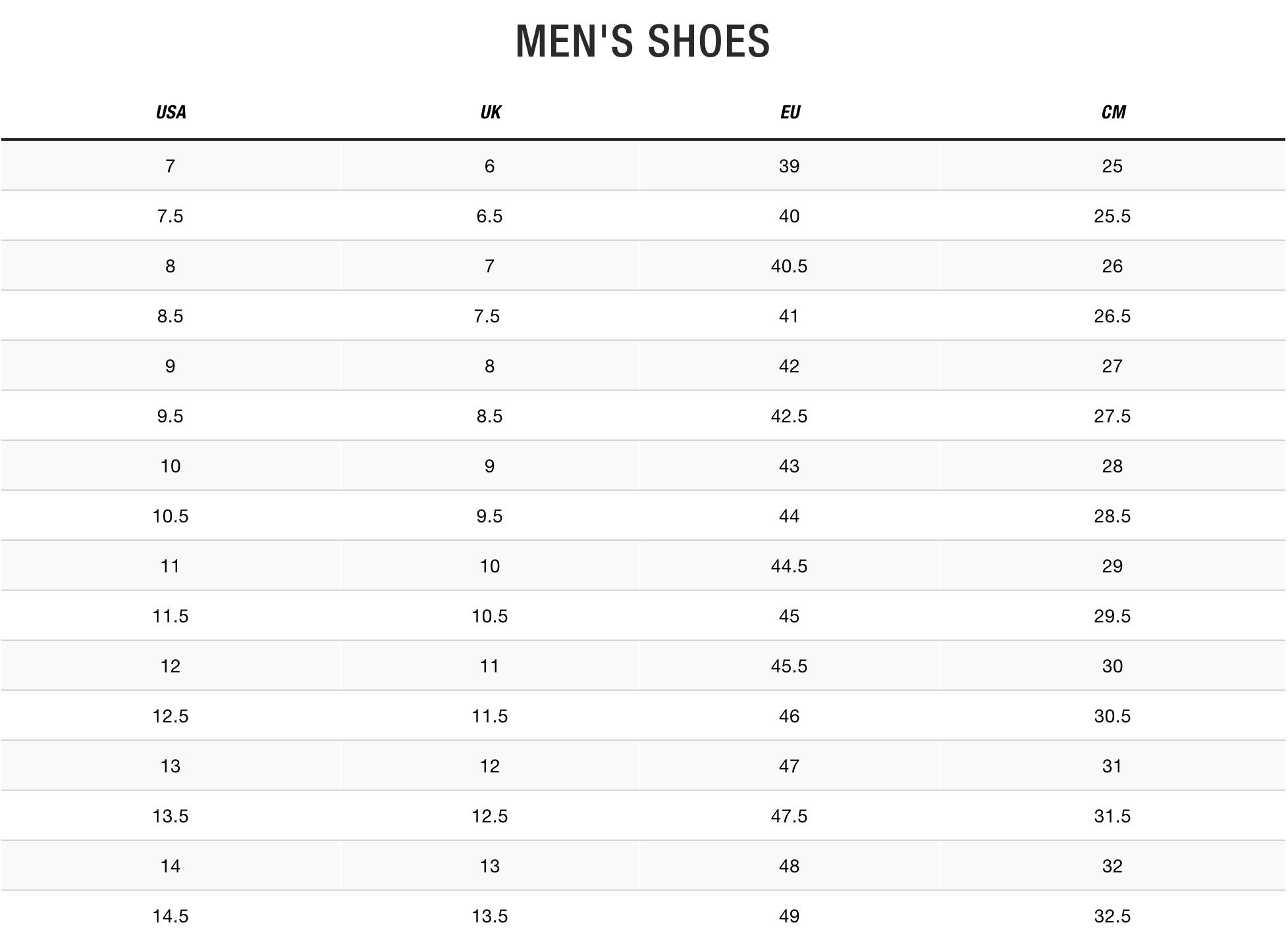 TNF Men Shoes