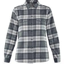 Fjallraven Womens Ovik Heavy Flannel Shirt