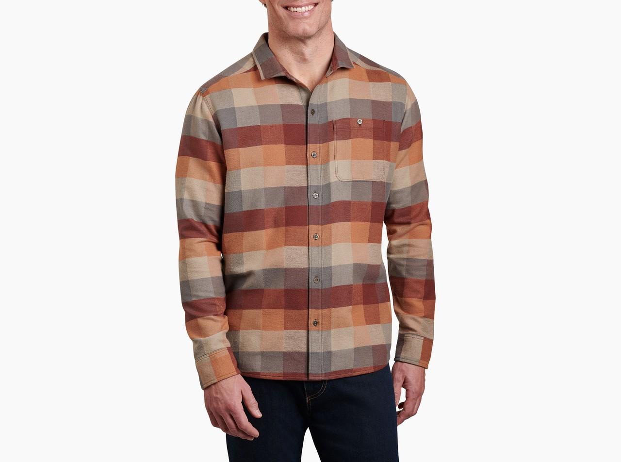 Kuhl Mens Pixelatr Flannel