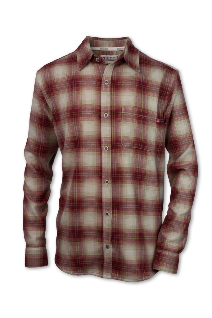 Purnell Mens Palmer Performance Flannel