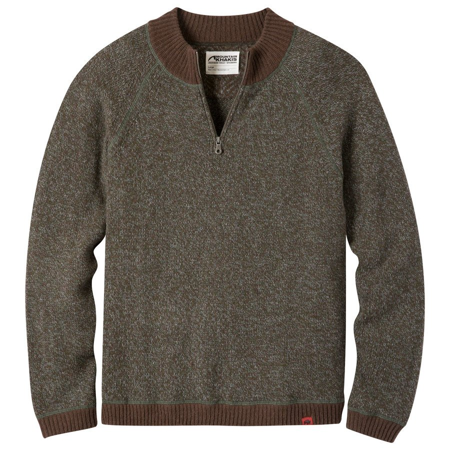 Mountain Khaki Men's Crafted Qtr Zip Sweater