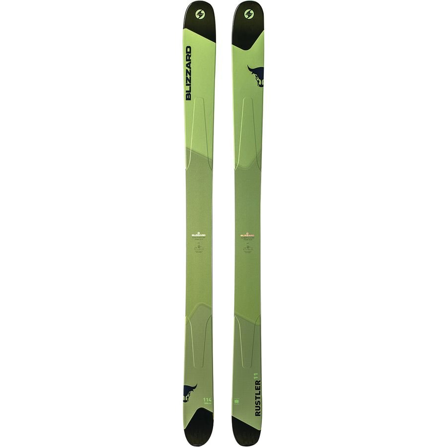 Blizzard Rustler 11 ski green