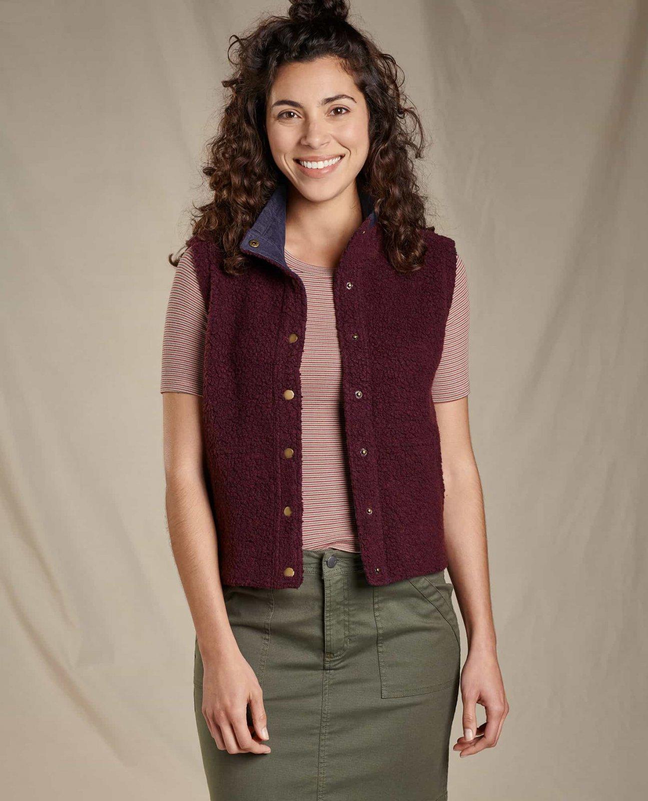 Toad & Co Women's Telluride Sherpa Vest