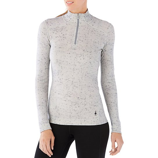 Smartwool Womens Merino 250 Baselayer Pattern 1/4 Zip
