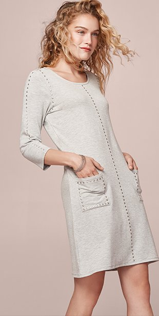 Tribal Womens T-Casual Connection Dress