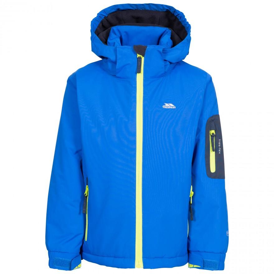 Trespass Wato Male Kid's Jacket Blue