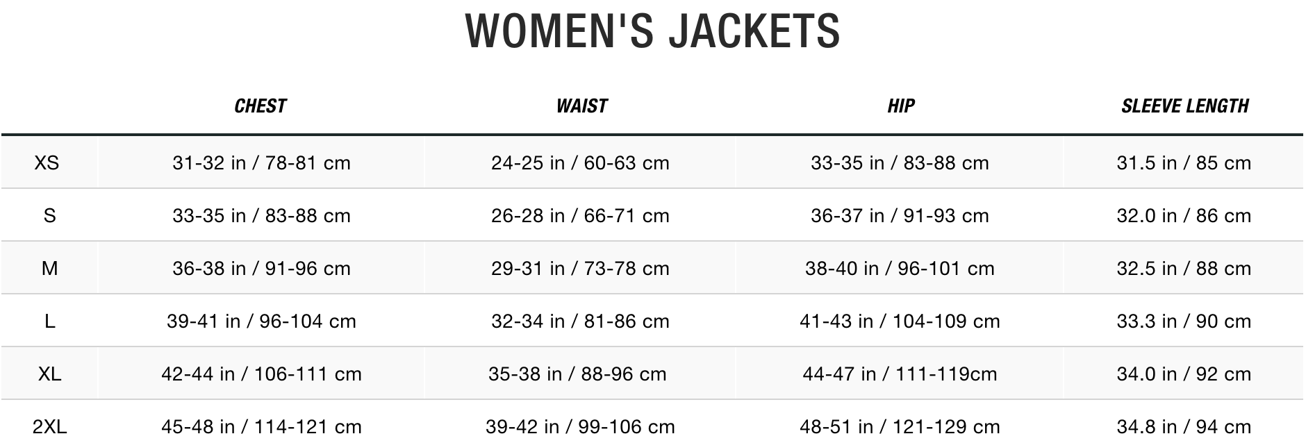 TNF Women Jackets