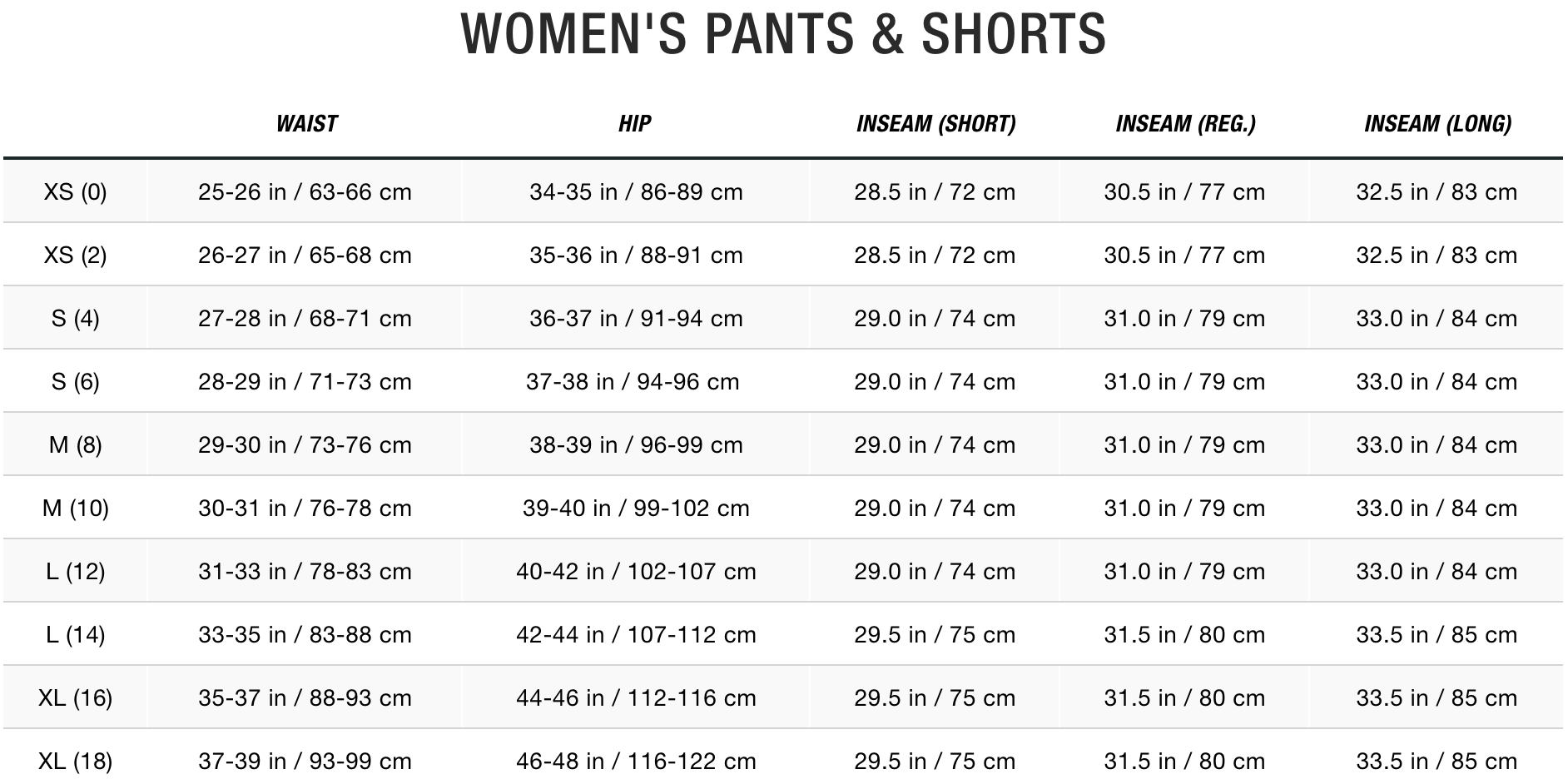 TNF Women Pants & Shorts