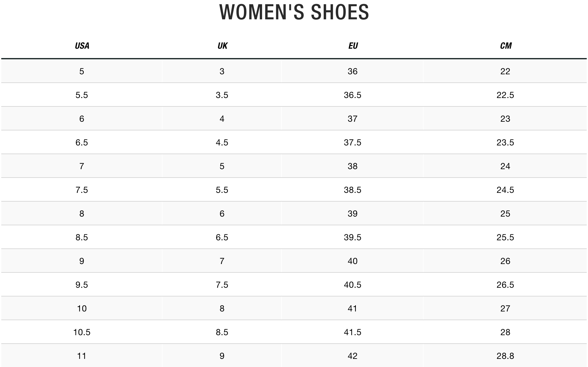 TNF Women Shoes