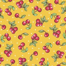 MOTTOS TO LIVE BY CHERRIES YELLOW