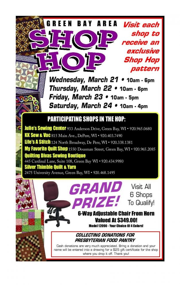 Country Register Ad for Shop Hop