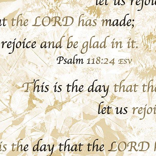 HEAVEN SENT - PSALM 118:24
