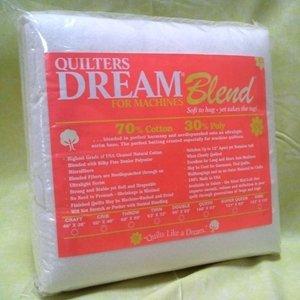 QUILTERS DREAM BATT BLEND QUEEN
