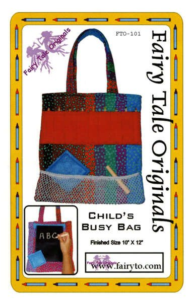 CHILDS BUSY BAG
