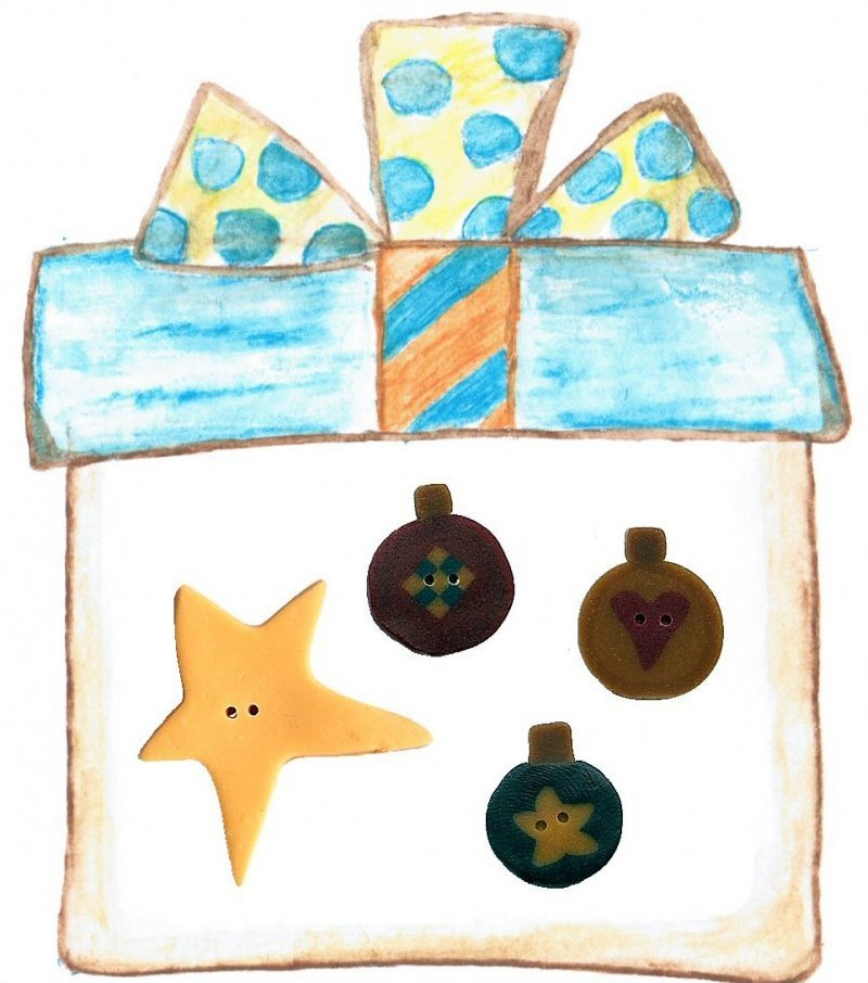 PATCH ABILITIES HOLIDAY TREE BUTTON PACK