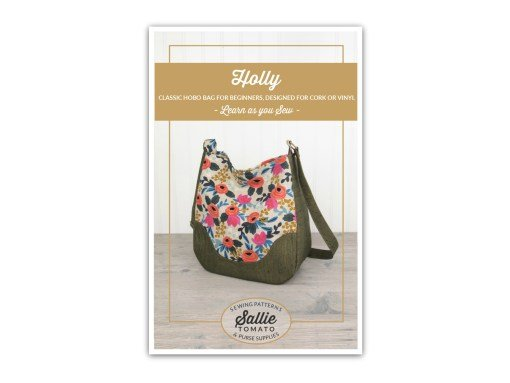 CORK BAG PATTERN - HOLLY CLASSIC HOBO BAG