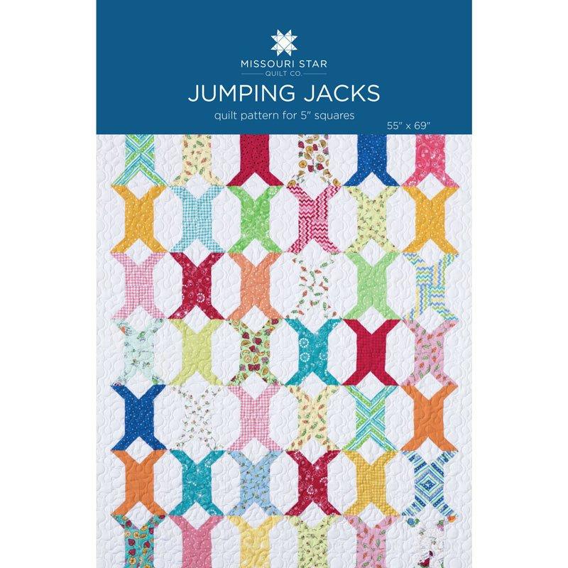 MISSOURI STAR JUMPING JACKS PATTERN