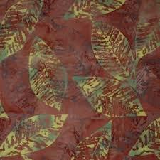 BATIK TONGA - FIRE LEAVES