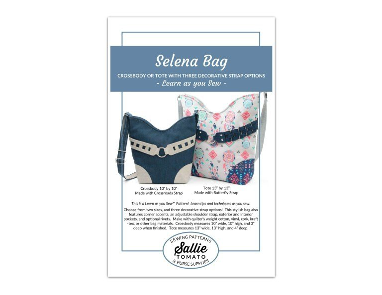 CORK BAG PATTERN - SELENA BAG
