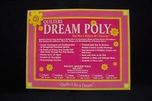QUILTERS DREAM BATT BLACK DOUBLE