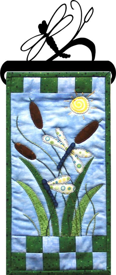 PATCH ABILITIES Dragonfly Garden BUTTON PACK