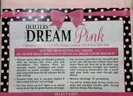 Quilters Dream Batt Pink CRAFT