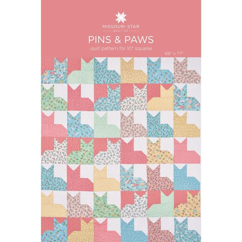 MISSOURI STAR PINS AND PAWS PATTERN