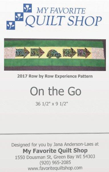 ROW X ROW 2017 PATTERN