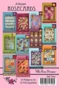 A DOZEN ROSE CARDS SET 2