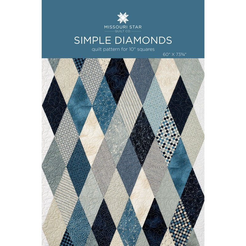 MISSOURI STAR SIMPLE DIAMONDS PATTERN
