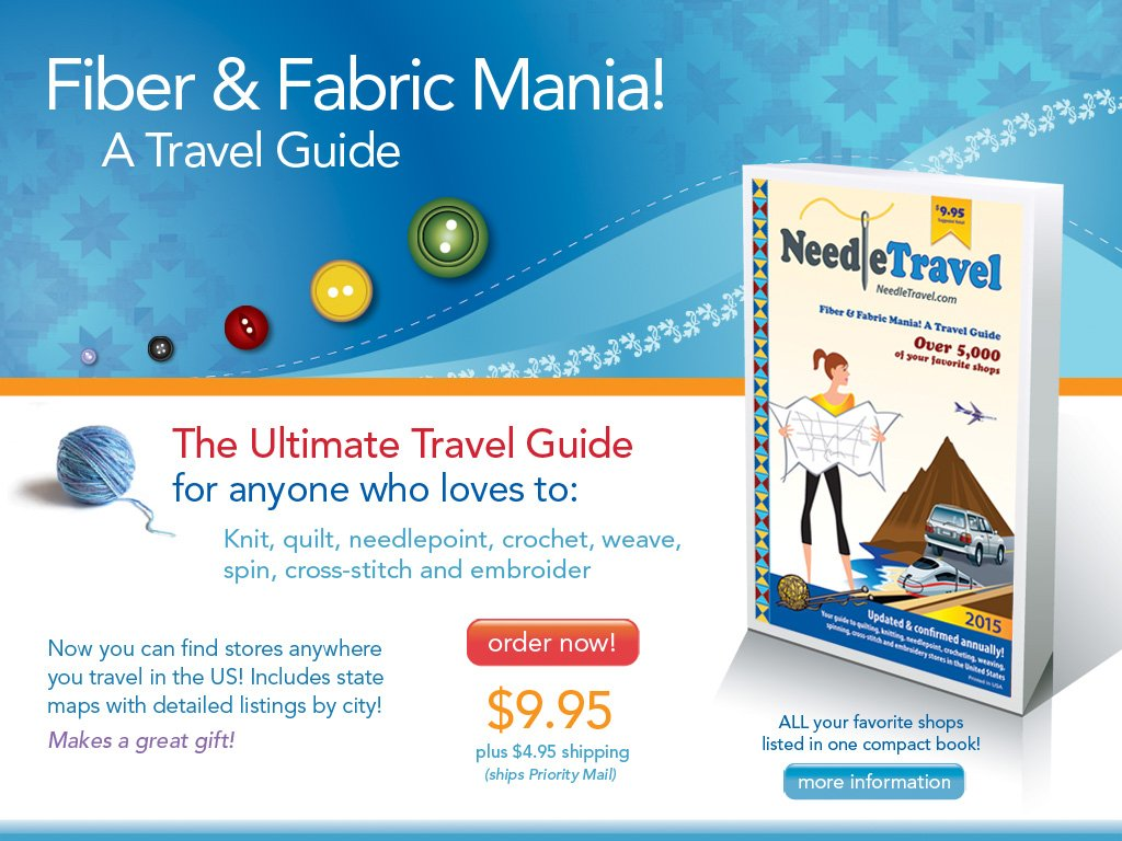 FIBER & FABRIC MANIA: A TRAVEL GUIDE 2014