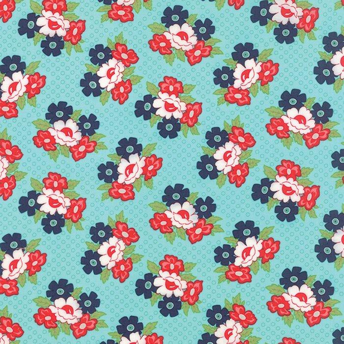 Daysail Blooms Aqua Flowers