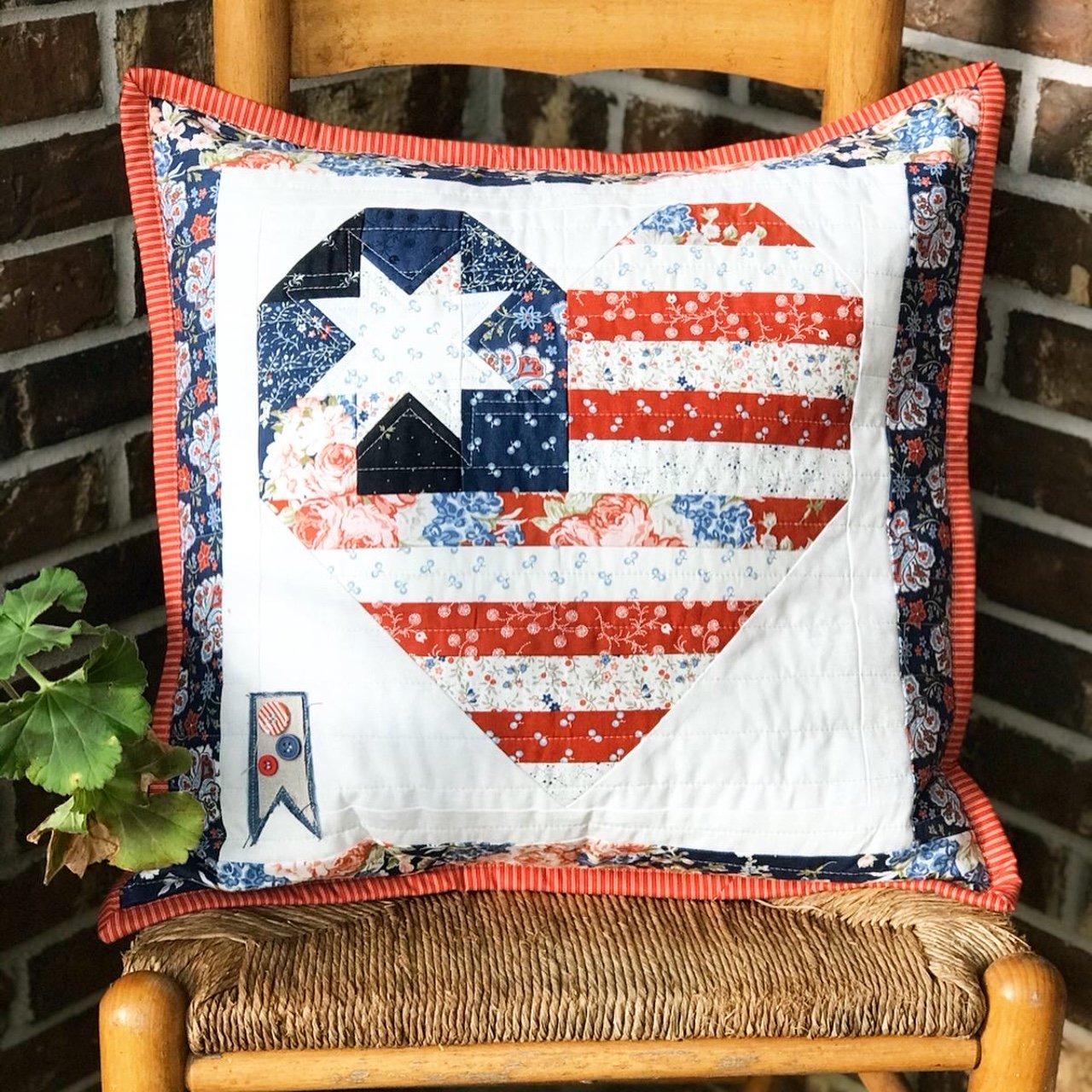 I Heart America Pillow Kit