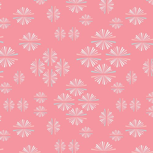 Paperie Paper Circles Pink 1.5 yds